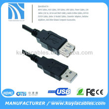 1.5m Black USB Extension Cable 480Mbits/sec transmission speed