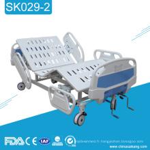 SK029-2 manivelle manuelle de lit d'hôpital