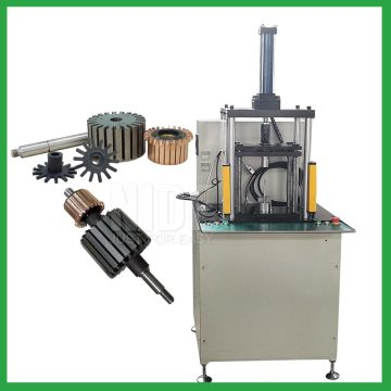 armature shaft commutator pressing punching machine