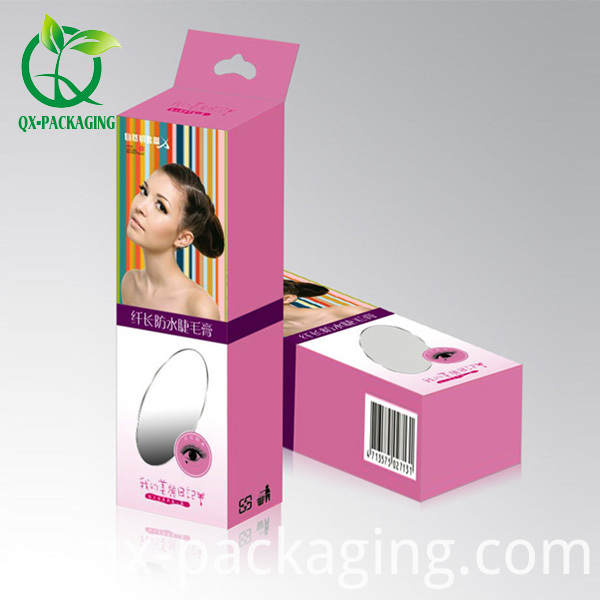 Paperboard cosmetic packaging