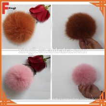 cheaper fox fur pom poms