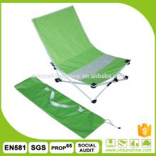 Cadeira de praia dobrável portátil ao ar livre, cadeira dobrável do pátio, cadeira de jardim ao ar livre
