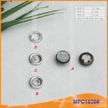 Kundenspezifische Nizza Design Kleider Prong Snap Button MPC1030
