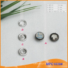 Personalizado Nice Design Clothes Prong botão Snap MPC1030