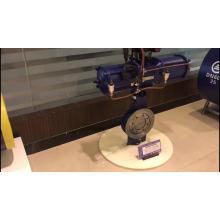 válvula de borboleta pneumática do controle válvula de borboleta da bolacha 150lb da polegada 16