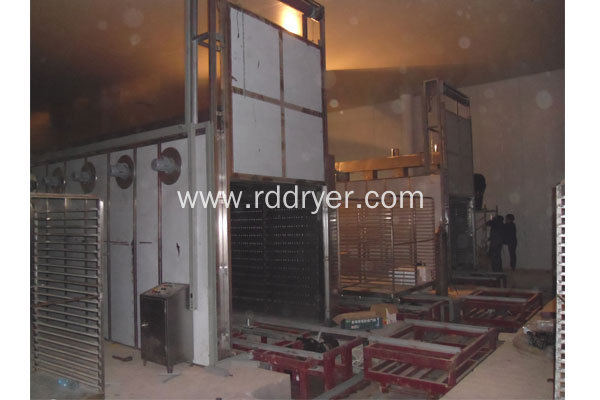 Chinese medicine fungi dryers tunnel hot air oven