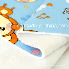 Tejido compuesto de seda de leche para ropa interior Suave y suave de felpa corta