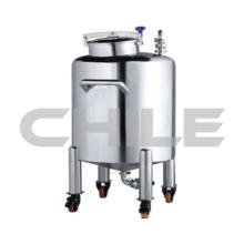 Réservoir de mélange hermétique à cylindre mobile