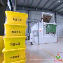 Equipamento de tratamento de resíduos de cuidados de saúde