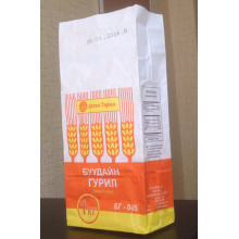 Sacs en papier de farine de blé