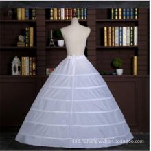 Высокое качество 6 обручи кринолин свадебные кружева свадебные петтикот