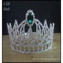 Joyería de plata de la boda Tiara princesa de los cabritos Tiara coronas al por mayor y tiara