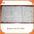 Belly Type Fox Fur Plate