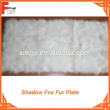 Belly Type Fox Fur Plate