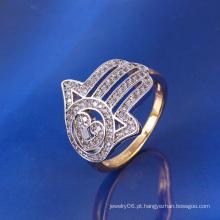 Xuping Two-Tone dedo dedo anelar