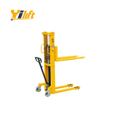 accurate steel construction 1000kg manual type hydraulic Hand Stacker MT1015