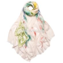 latest cashmere scarf pure cashmere hand-painted scarf SWC717 high-end hand painted scarf fashionable ladies' shawl