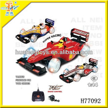2013 новый 1:14 F1 высокой скорости RC автомобиль F1 скорость игрушки автомобиль H77092
