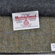 Tela tejida a mano de la chaqueta del tweed de Harris del 100% Wool