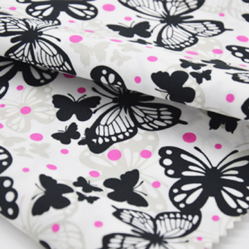 TC 65/35 45*45 133*72 Polyester cotton fabric for garments shirt dress printed order