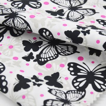TC 65/35 45 * 45 133 * 72 Polyester pamuklu kumaş giysiler için gömlek elbise baskılı sipariş