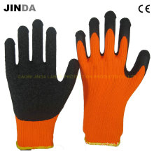 Terry Yarn Liner Latex Coated Industrial Safety Gloves (LS703)