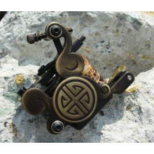 Nuovo stile in ottone Carving Tattoo Machine Gun