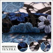 Venda quente Designer de malha de tecido de rendas solúvel em água decorativo
