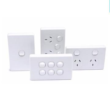 Australian Standard SAA Approved Wall Switch Electrical Light Switches 250V