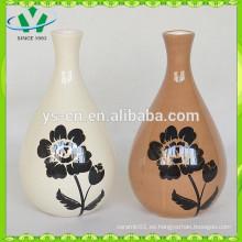 2015 Florero de cerámica de la venta caliente para la decoración casera