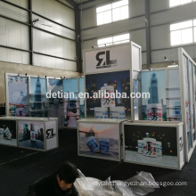 Detian Offer aluminum extrusion dispensing booth design for pharmaceutical used trade show booth