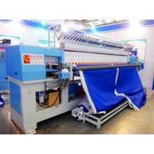 Máquina del bordado que acolcha informatizado para hacer los zapatos, bolsos, edredones
