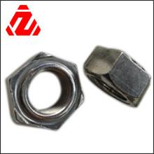 Edelstahl-Vierkant-Sechskantmuttern (DIN918)