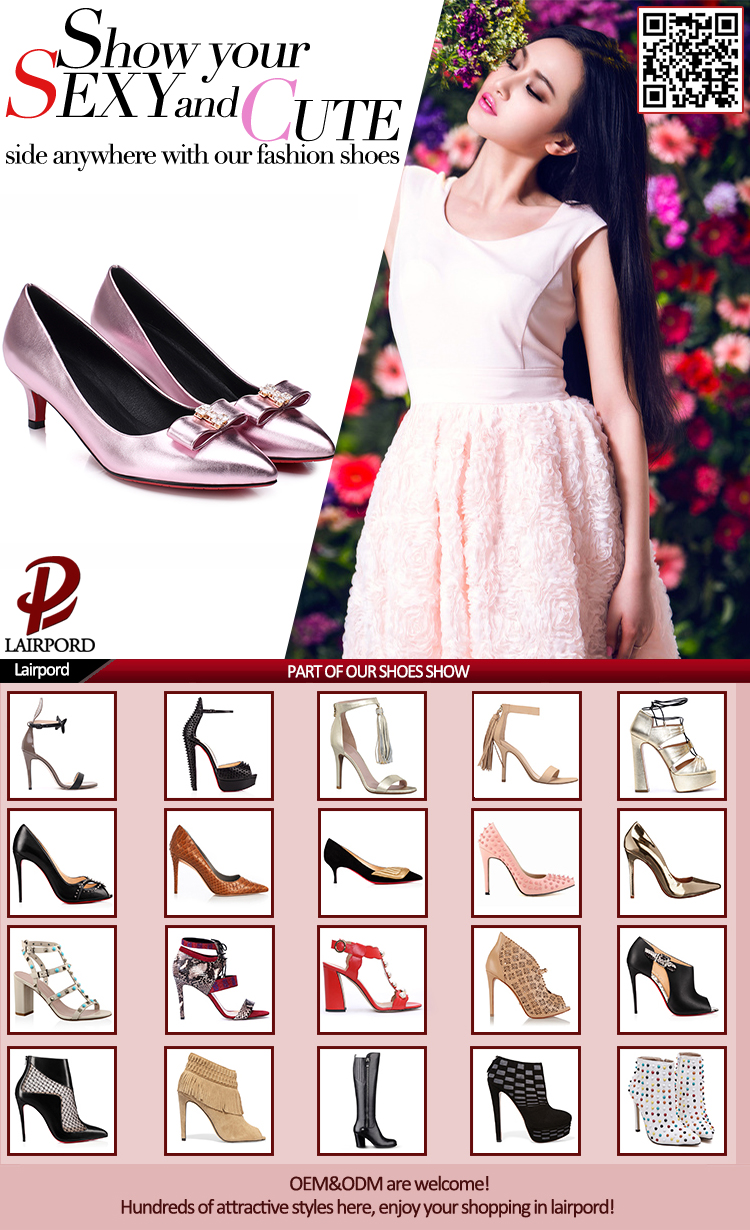 newest style spring shoe pump