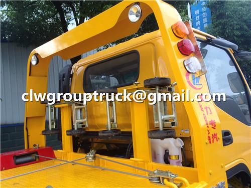 Flatbed Wrecker Truck_5