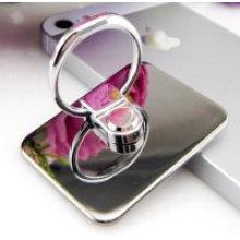 Tenedor antideslizante del anillo de dedo del cojín de la PU para el teléfono celular
