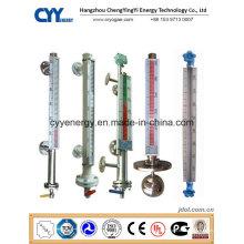 Hochwertiger Cyybm60 Magnetpegelmesser für Lagertanks