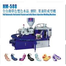 Zapatillas giratorias de la jalea que hacen la máquina