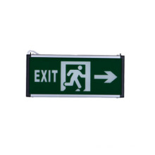 3w battery supported rechargeable high quality factory direct sale led exit emergency sign