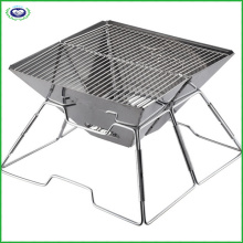 Foldable Stainless Steel BBQ Grill