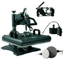 HP5IN1 Multifunción 5in1 combo máquina de prensa de la máquina máquina de impresión de la camiseta