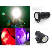 Высокоинтенсивный подводный фонарь на 5000 л / с