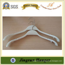 Alibaba Express Plastic Hanger Promotional Cloth Hanger para o vestido