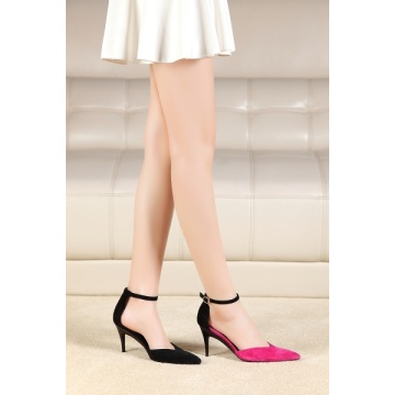 New Developed Fashion High Heel Foldable Heel Ladies Shoes (HS02)