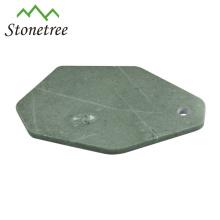 Forma única de la hoja de mármol