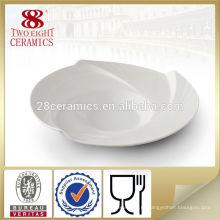 Оптовая homewares глубокое блюдо ужина тарелки простые керамические плиты