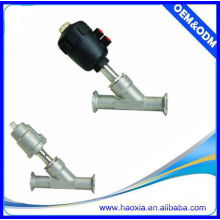 Profesional de diseño de control neumático del ángulo de asiento de la válvula de pistón 2 vías