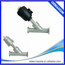 Profissional design pneumático controle de ângulo de válvula de pistão de assento 2way
