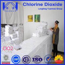 Tableta de dióxido de cloro de alta pureza para desinfectante hospitalario