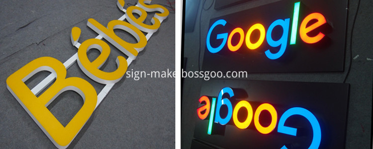 channel letter led
